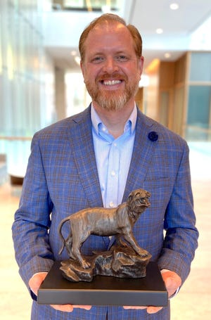 Jeremy Humphers has been named 2021 Distinguished Alumnus by East Central University in Ada.