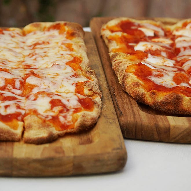 Bice now serves five different kinds of pinsa, which is a cousin of pizza.