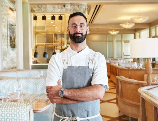 Chef Nino La Spina at Florie's. (Courtesy Four Seasons Palm Beach)