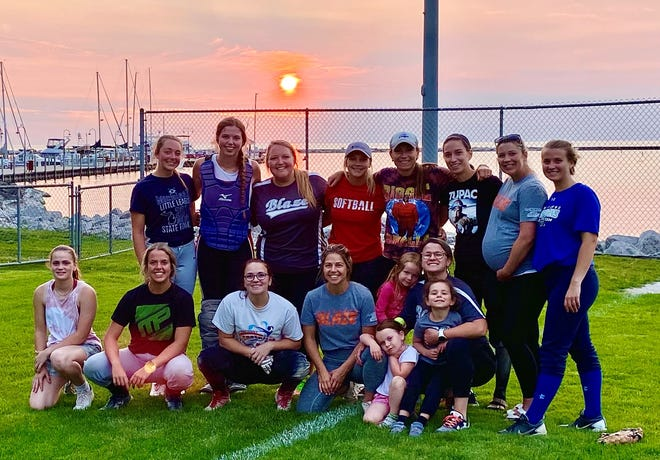 The Blaze captured a Petoskey Parks and Rec. women's fastpitch softball league title this week, knocking off ALS from the top.