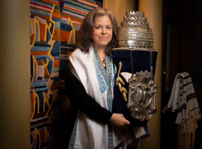 Rabbi Lynn Goldstein is the the first female rabbi at Temple B'rith Sholom as well as the first to head a congregation in Springfield.