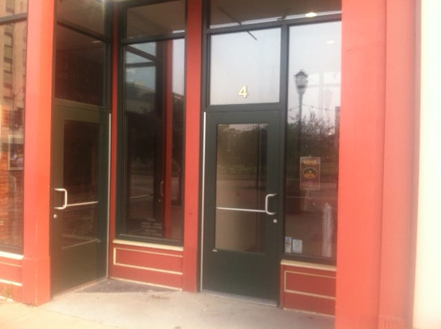 The site of Robbie's Restaurant at 4 S. Old State Capitol Plaza has been sold.