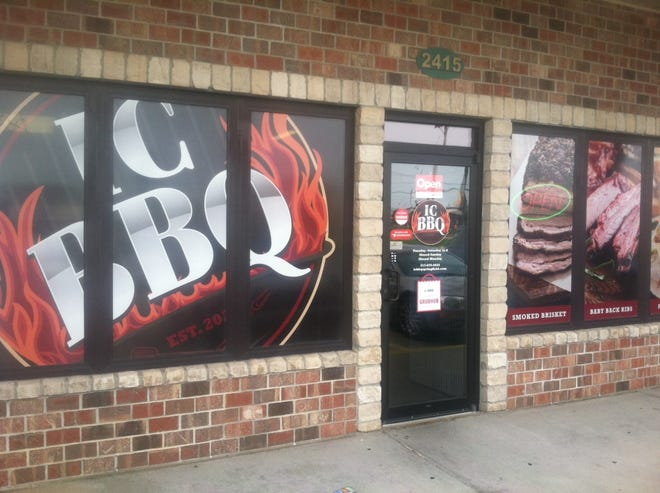 IC BBQ is at 2415 N. Dirksen Parkway, Springfield.