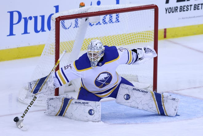 The Bruins will rely on former Sabres goaltender Linus Ullmark while Tuukka Rask recovers from offseason surgery.