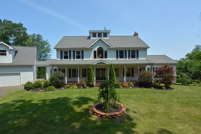 This 4,698-square-foot house at 110 Long Hill Road in West Brookfield lists for $1,050,000.