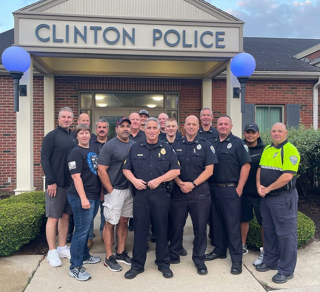 Members of the Clinton Police Department gathered at 5 a.m. on July 29 to wish Sgt. Rick Welsh good luck on his retirement. His son, a Haverhill detective, made the final call over the radio.