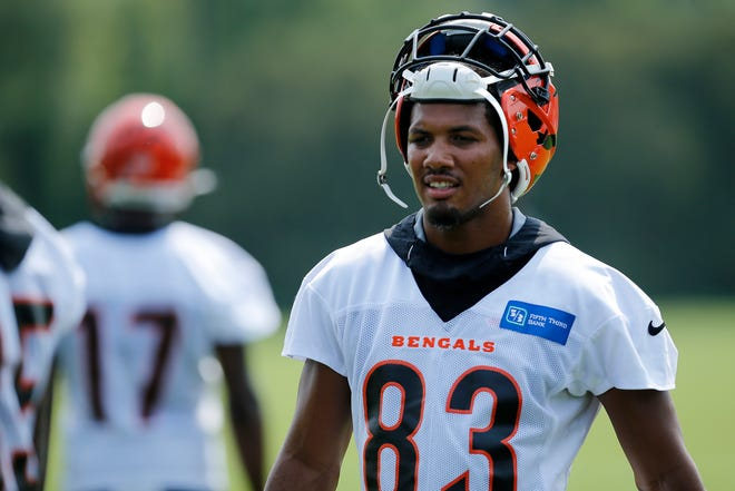 Bengals wide receiver Tyler Boyd caught 79 passes for 841 yards last season.