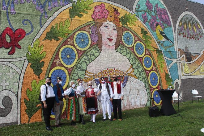 While you're in The Czech Village/New Bohemia Main Street District, keep your eyes open for murals and other art installations throughout the neighborhoods.