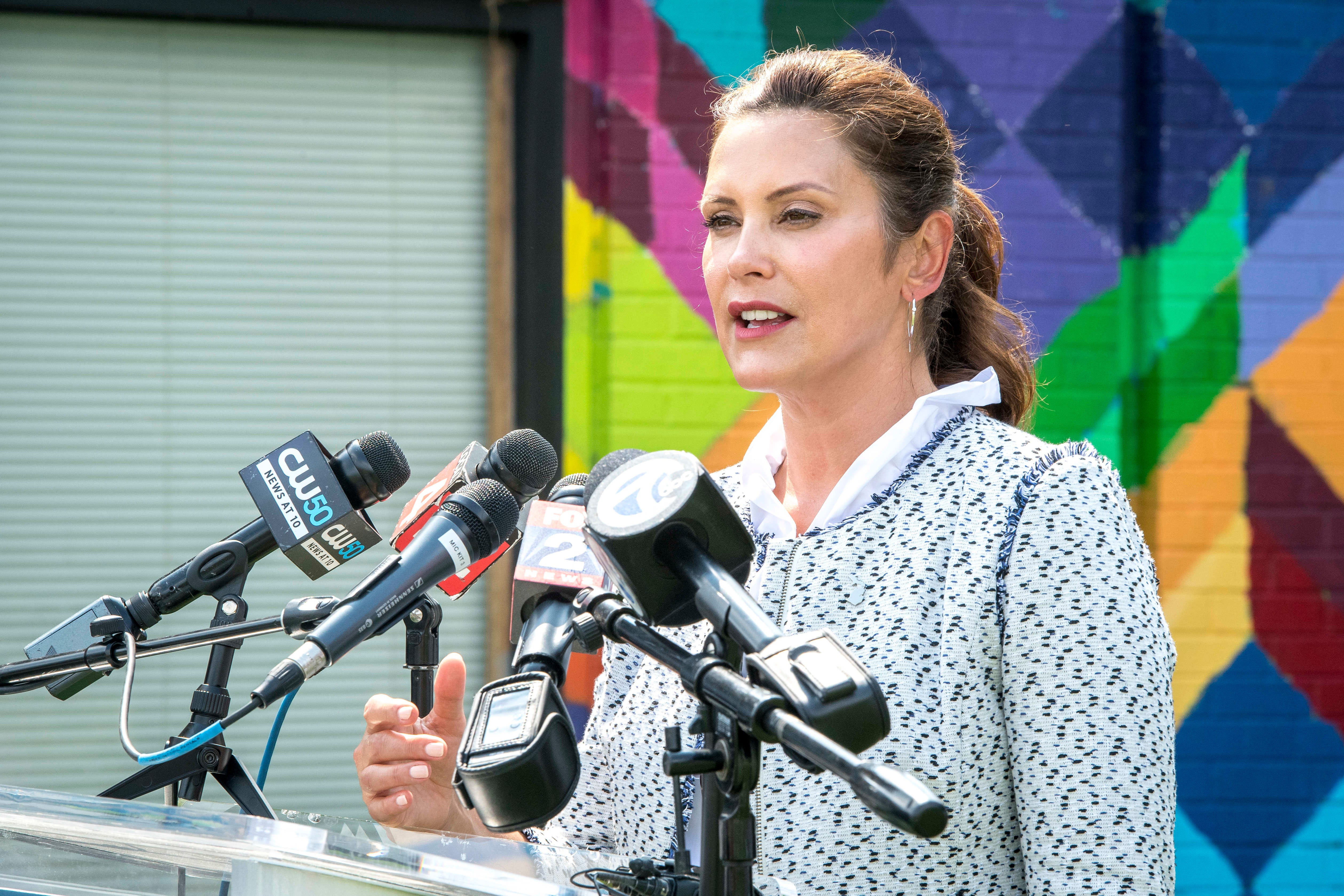 Whitmer's job approval falls, splitting Michigan voters, poll finds