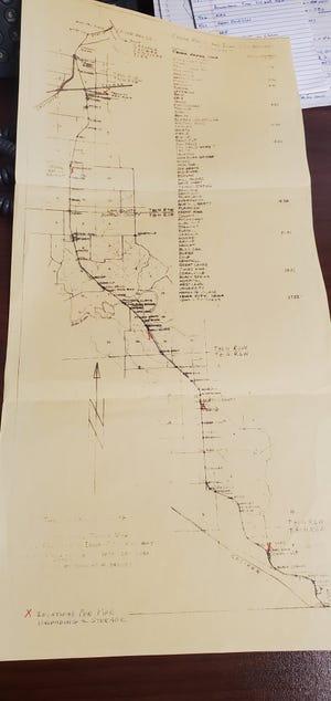 A 1951 CRANDIC map