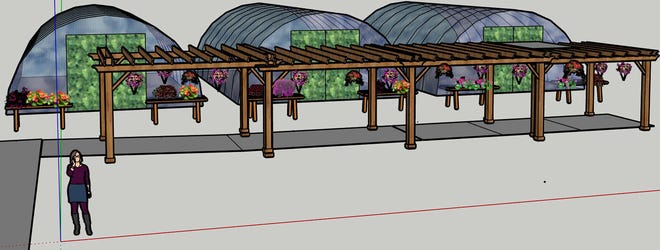 Anne's Acres, a retail garden center that would specialize in spring annuals, hanging baskets and fall mums, is proposed for a vacant parcel at 8711 W. Forest Home Ave., Greenfield. The owners hope to open by May 2022.