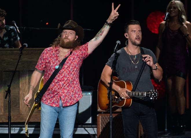 Brothers Osborne, Miranda Lambert and Dierks Bentley will perform at the CMA Summer Jam Concert at the Ascend Amphitheater in Nashville, Tennessee on Wednesday, July 28, 2021. CMA Summer Jam is a two-night concert where fans can watch live directly. ..
