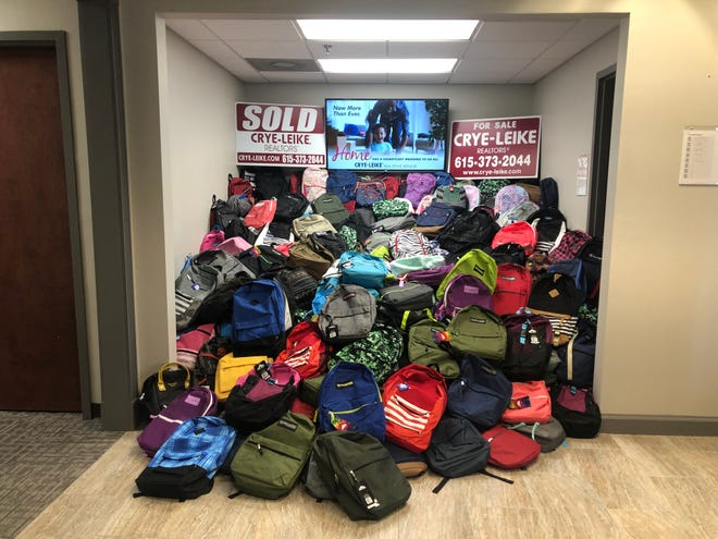 School backpacks are available for SWAG area residents.