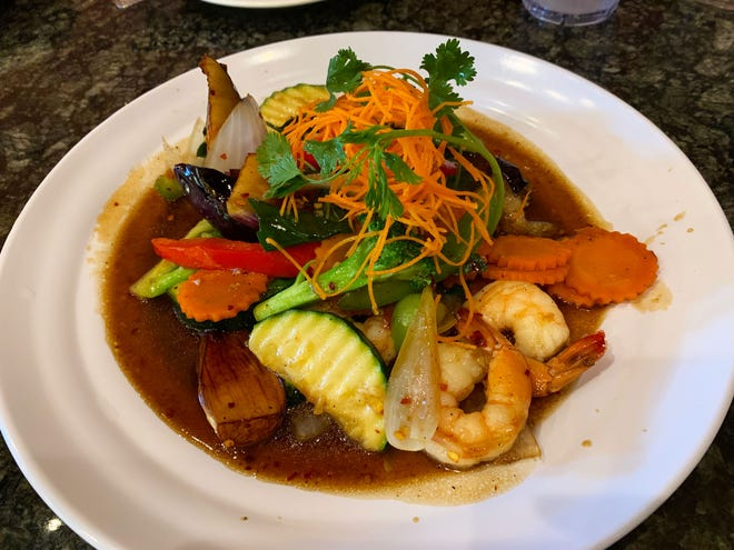 The Thai eggplant dish from Thai Spices.
