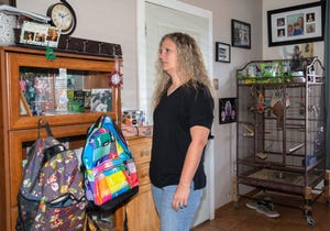 """""""You can never get a human on the phone, it's always a voicemail system,"""" says Melissa Ferralez of contacting the city of Phoenix's rental assistance program. She is hoping to receive aid to help with the back rent on her north-central Phoenix rental home."""