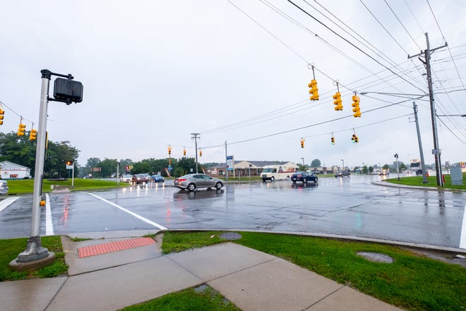 The intersection of M-25 and Krafft Road is the intersection with the highest number of crashes in St. Clair County from 2016 to 2020.
