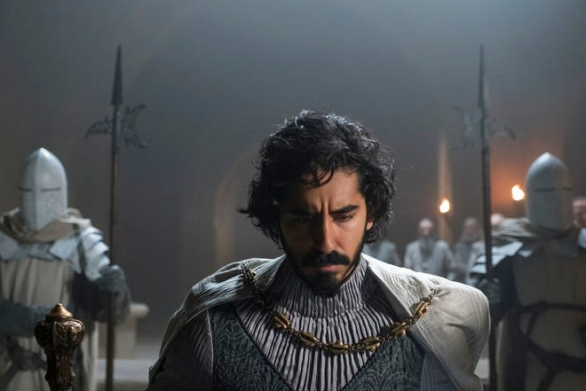 """Dev Patel stars in """"The Green Knight."""" The movie opens Friday at Regal West Manchester, Queensgate Movies 13 and Hanover Movies 16."""