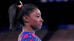 """""""We have to protect our mind and our body rather than just go out there and do what the world wants us to do,"""" Simone Biles said."""