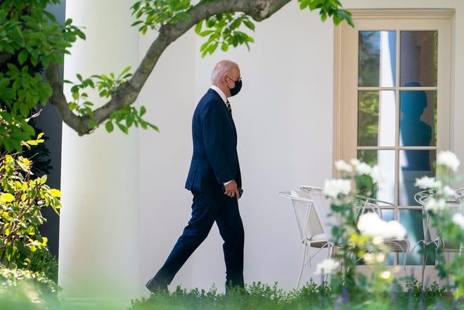 President Joe Biden at the White House on July 28, 2021.