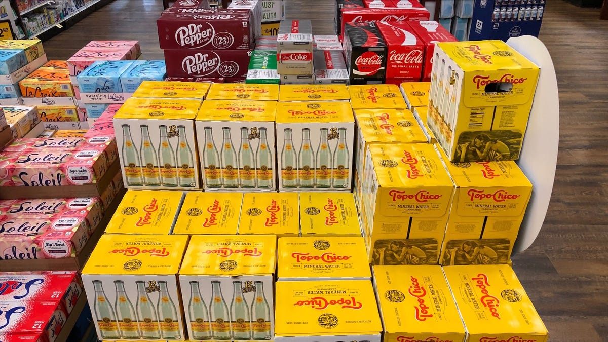 Topo Chico says there's a supply shortage; here's what that means for Texas
