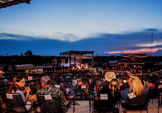"""Evo Entertainment Group will screen """"Grease"""" at the Backyard Amphitheater in Fredericksburg as part of the Summer Lovin' Fest."""