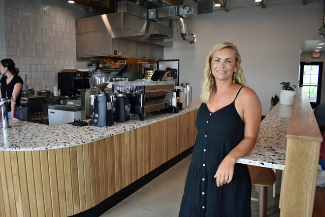 Casee Burgason Interior Design was instrumental in the design of the new Burgie's Coffee in north Ames. The interior elements were inspired by Scandinavian design.