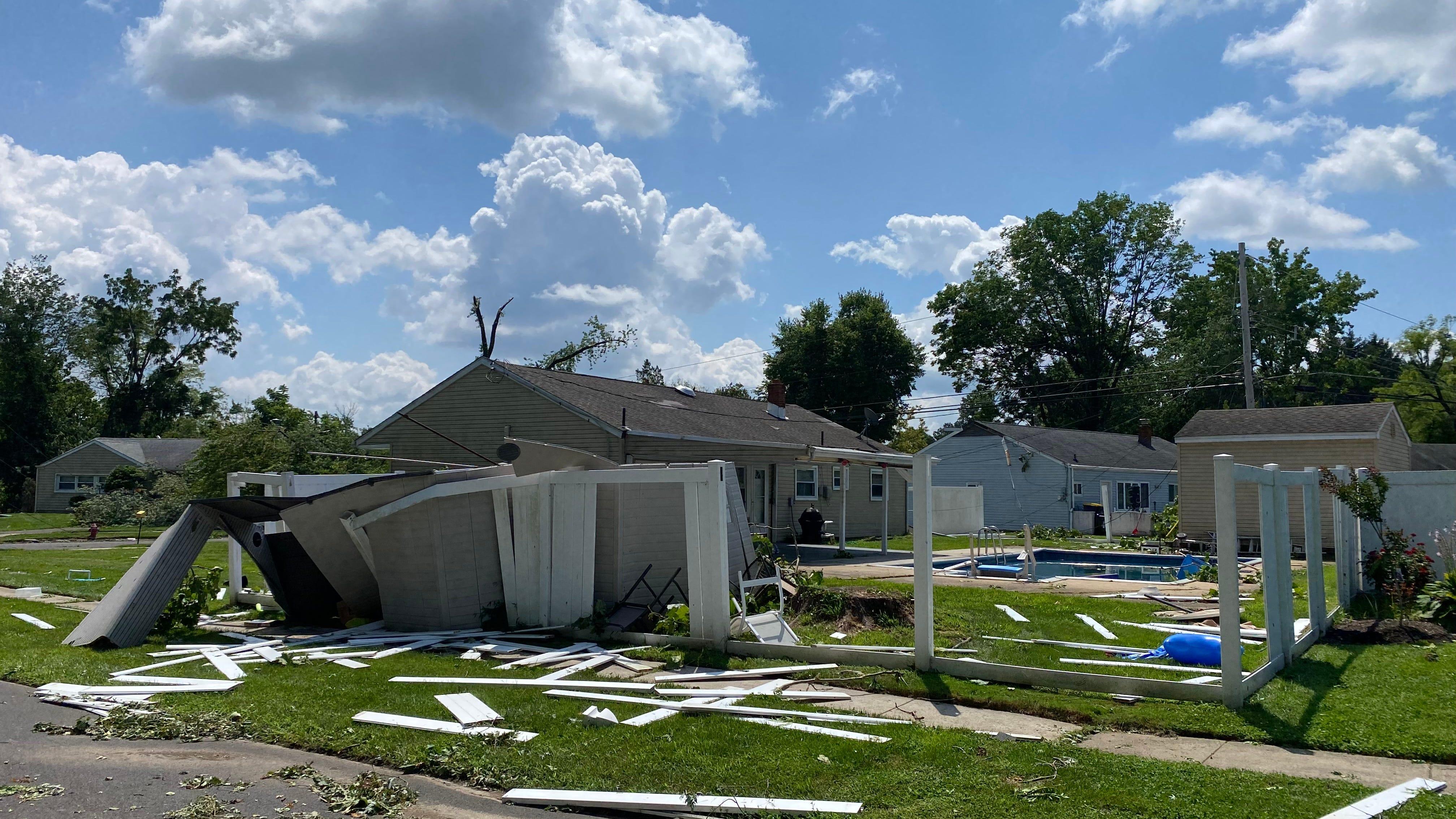 Bensalem residents in disbelief assess the damage from Trevose tornado