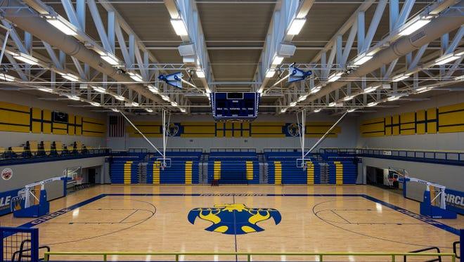 Circle High School gym