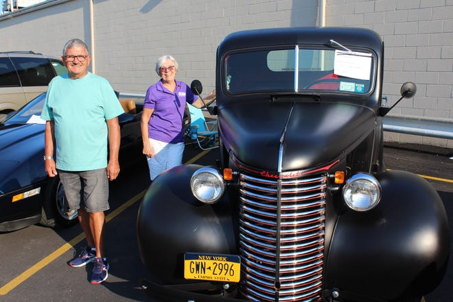 Dundee's Show N Go Car Show brought out over 100 cars, trucks, and motorcycles of all vintages July 28. Hundreds more people of all vintages enjoyed the show and the perfect weather for it.