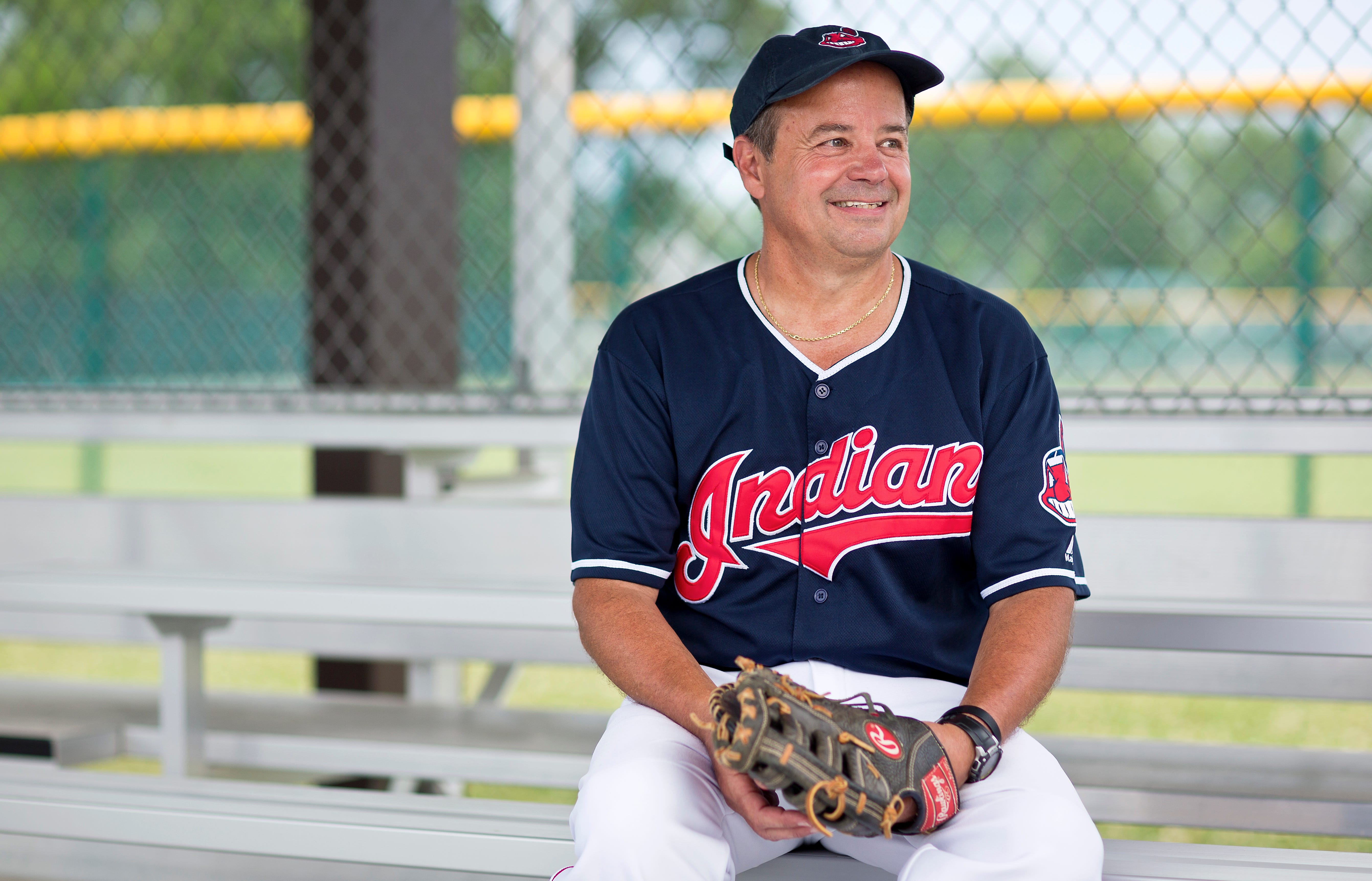Mark Sigrist photographed at the Grove City Buddy Ball Field on Tuesday, June 29, 2021.