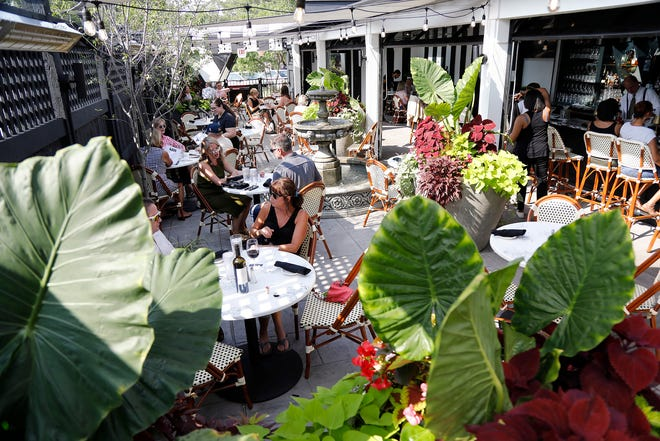 The Top Steak House officially opened a new three-season patio for patrons on July 30.