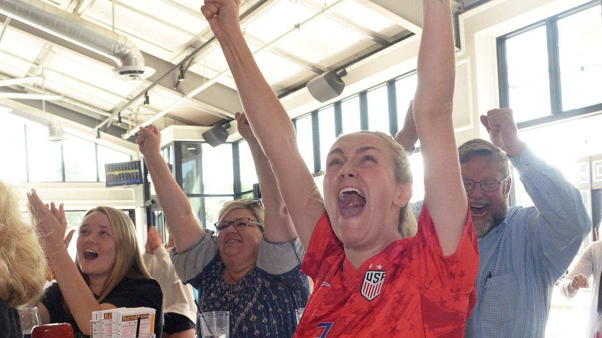 Whitman cheers on Mewis sisters, USWNT to soccer victory - Enterprise News