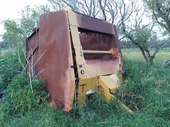 The drought is increasing the risk of baler fires this year.