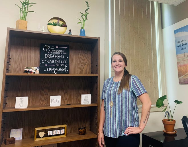 Leann Courson, System of Care Coordinator at Bridgeway, is working to build resources for the community to address substance abuse, and end the stigma of addiction by telling her own story.