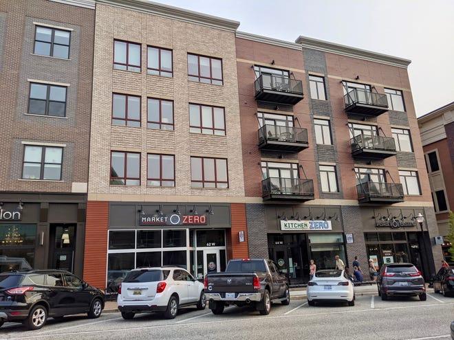 Businesses in new developments along Eighth Street include Market Zero, Kitchen Zero, Bondi Salon and Bondi Suites.