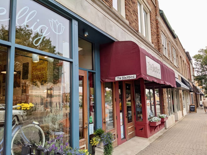 There are several new businesses along River Avenue in downtown Holland, including Bambu Desserts & Drinks, Brick and Ivy Market and Whit's Frozen Custard.