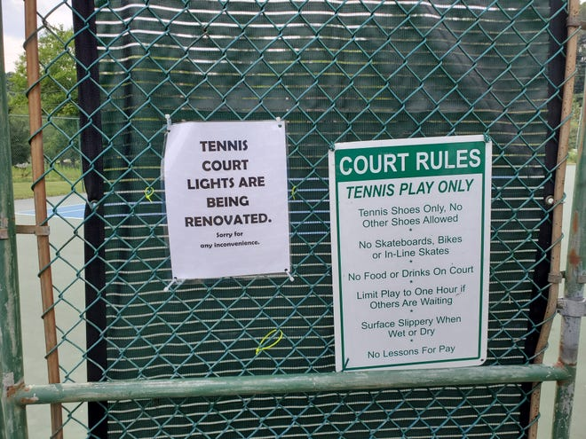 On Monday, Aug. 2, the city of Hendersonville will begin a lighting renovation project at the tennis courtsin Patton Park.