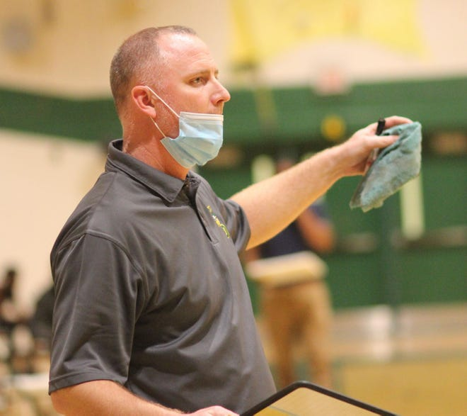 White Oak Athletic Director and basketball coach Chris Grimes said the NCHSAA listened to wrestling coaches who asked for the dual-team playoff schedule to be adjusted.