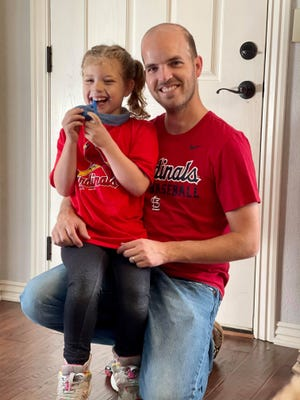 Philip Robertson will be playing 100 holes of golf to raise awareness of Phelan-McDermid Syndrome. Robertson's six-year-old daughter was born with the syndrome.