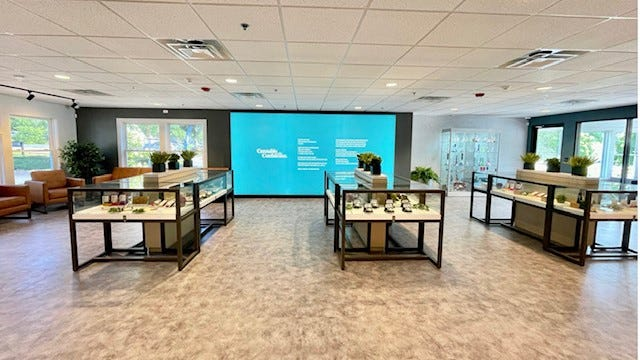 Curaleaf opened its medical cannabis dispensary in Maine, Maine, on Friday, July 23.