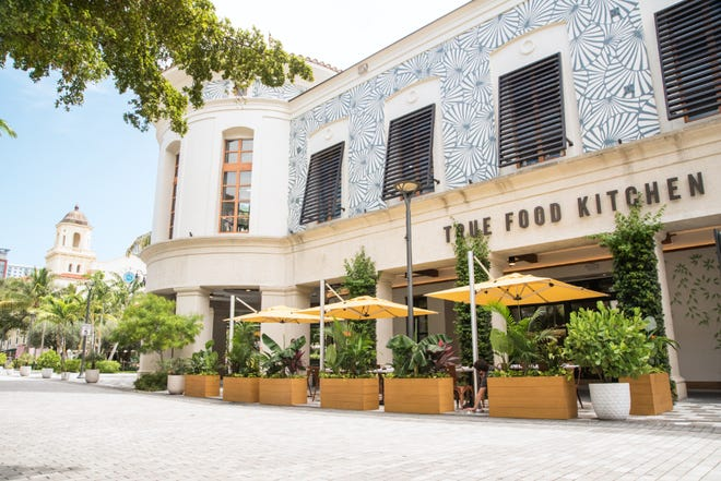 New at Rosemary Square: True Food Kitchen opened Friday, July 30, in the former Restoration Hardware store space.