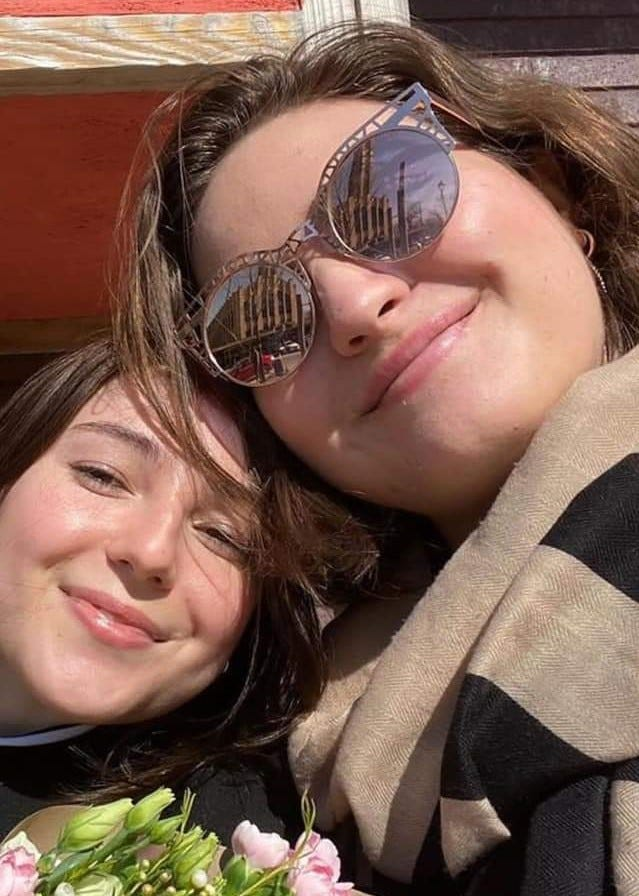Anastasia Gromova, right, had come to Surfside to visit her best friend, Michelle Pazos, before moving to Japan. Both died Thursday, June 24, after Champlain Towers South collapsed. Michelle's father, Miguel, died with them.