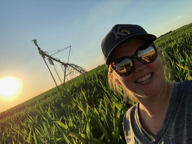 Jackie Mundt, Preston, is a Pratt County farmer who lives and breathes agriculture promotion in her day-job as a communications manager for Kanza Coop, and in the full-time, side-gig as a farmer with Marc Rundell.