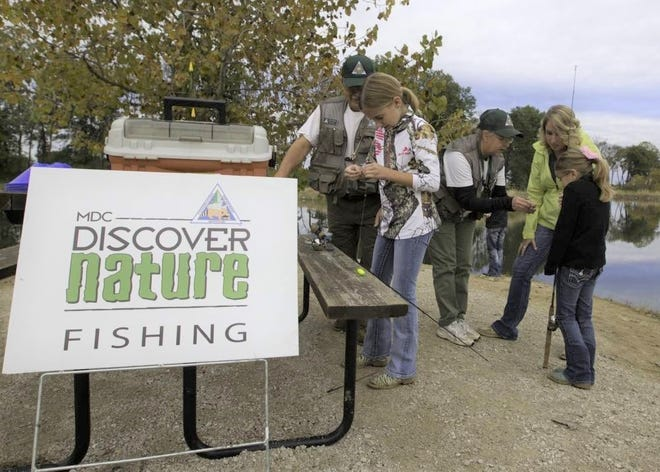 """Families can learn about fishing at several Missouri Department of Conservation """"Discover Nature Fishing"""" events scheduled for August."""