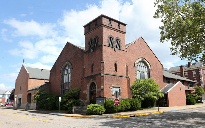 Spirit of Faith Christian Center of Ohio will take over the former First United Presbyterian Church on East Market Street in Alliance. The facility, seen here on Friday, July 30, 2021, will open Sunday.