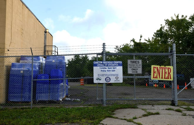 The Canton Recycling Center at 742 Schroyer Ave. SW.