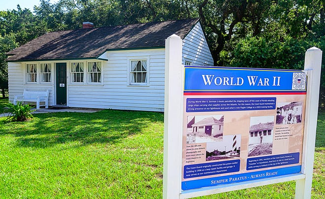 The St. Augustine Lighthouse and Maritime Museum has restored and converted the World War II era U.S. Coast Guard barracks near the base of the lighthouse in St. Augustine into a museum documenting the coast guard's defense of the First Coast during the war.