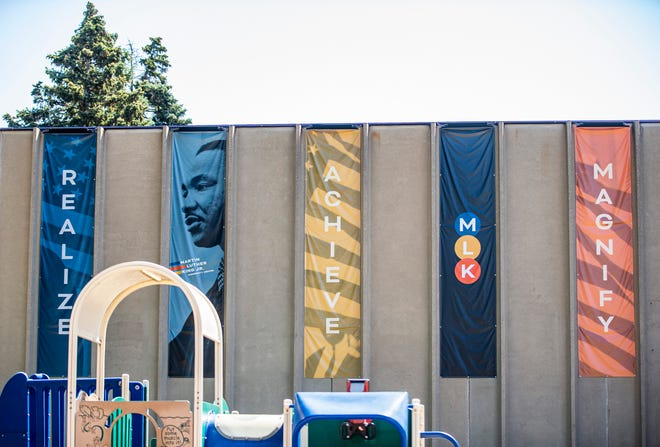 The Martin Luther King, Jr. Community Center shown on Friday in South Bend.
