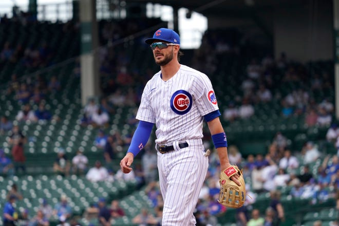 Chicago Cubs third baseman Kris Bryant was dealt to the San Francisco Giants on Friday at the MLB trade deadline.