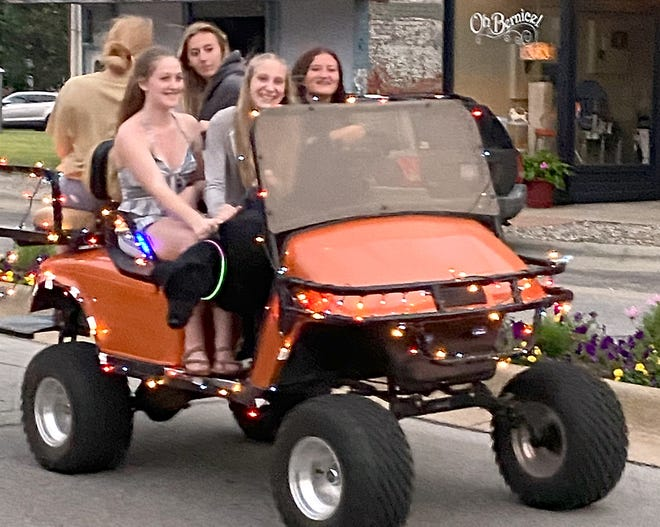 A light parade also was part of opening day activities at Burr Oak Heritage Festival.